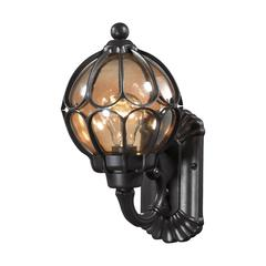 ELK lighting Madagascar 1 Light Outdoor Sconce In Hazelnut Bronze