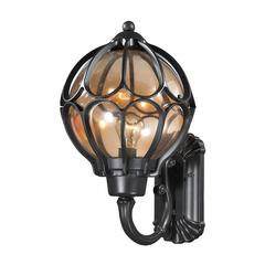 Madagascar 1 Light Outdoor Sconce In Hazelnut Bronze