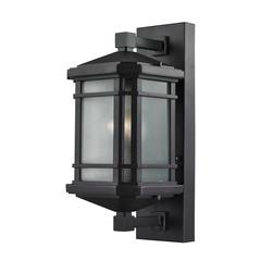 ELK lighting Lowell 1 Light Outdoor Sconce In Hazelnut Bronze