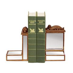 Sterling Pair Mirrored Bookends