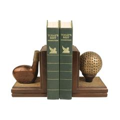 Pair Brunstfield Links Bookends