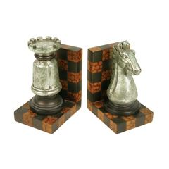 Sterling Grand Master Bookends