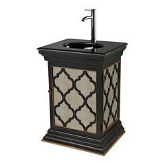 Mariposa Mirrored Vanity Unit With Moorish Pattern By