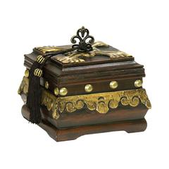 Sterling Camelot Box