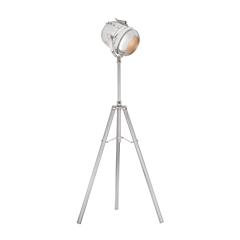 Glitz 1 Light Tripod Lamp In Nickel
