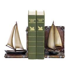 Pair Sailboat Bookends