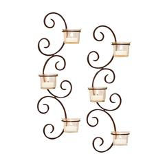 Classic Set of 2 Wall Sconces