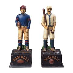 Sterling Favorite Pastimes Bookends