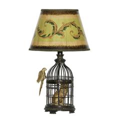 """Dimond 18"""" Trading Places Table Lamp in Bronze"""