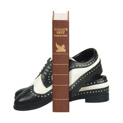 Sterling Pair Dancing Shoe Bookends