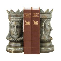 Pair King & Queen Bookends