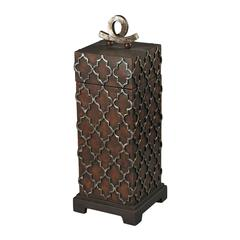 Tall Moorish Carved Box