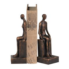 Male And Female Form Bookends