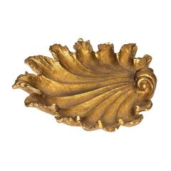 Sterling Fan Shell Dish