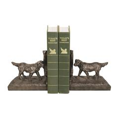 Pair of Retriever Bookends
