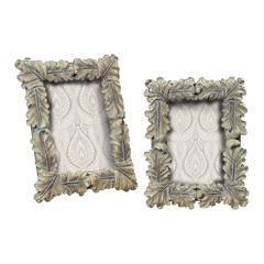 Sterling Florintine Scroll Picture Frames S/M