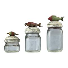 Fly Fishing Lure Storage Jars