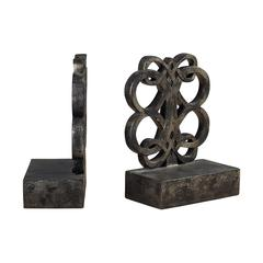Sterling Bookends In Durand Bronze Finish