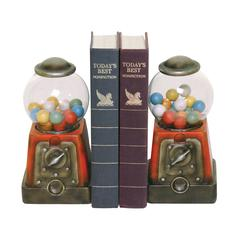 Sterling Pair Candy Treasure Bookends