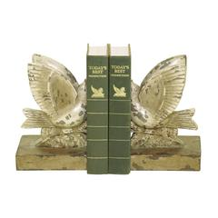 Sterling Pair Taking Flight Bookends