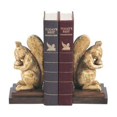 Pair of Acorn Lover Bookends