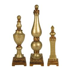 Set of 3 Lisbon Finials