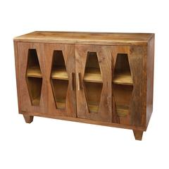 Lazy Susan Retro Diamond Cabinet