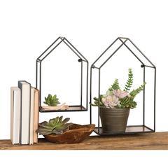House Set of 2 Shelves