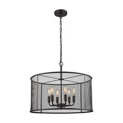 Williamsport 6 Light Chandelier In Oil Rubbed Bronze