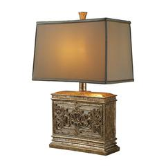 "Dimond 25"" Laurel Run Table Lamp in Courtney Gold"