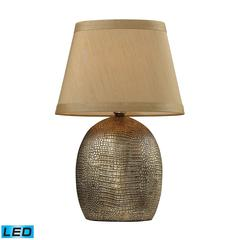 "21"" Gilead LED Table Lamp in Meknes Finish"