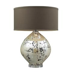 "25"" Limerick Ceramic Table Lamp in Turrit Finish"