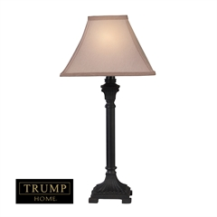 "Dimond TRUMP HOME 26"" Woodbury 2-pack Table Lamps in Brown"