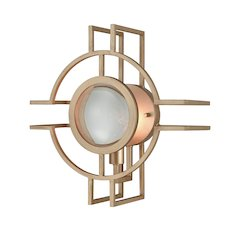 Lens Flair Wall Sconce