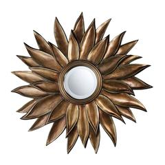 Sterling Prentiss Mirror In Stonyford Gold