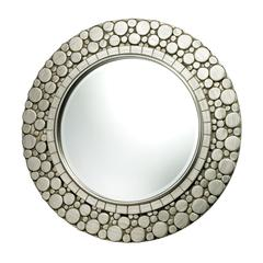 Sterling Monterey Mirror In Silver Leaf