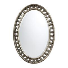 Sterling Sumner Antique Silver Mirror
