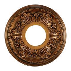 ELK lighting Acanthus 11-Inch Medallion In Antique Bronze Finish
