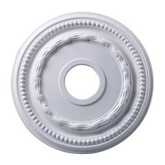 Campione Medallion 16 Inch In White Finish