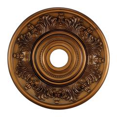 Laureldale 21-Inch Medallion In Antique Bronze