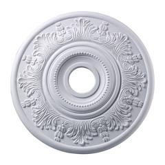 Laureldale 21-Inch Medallion In White