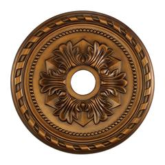 Corinthian 22-Inch Medallion In Antique Bronze
