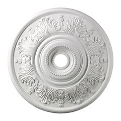 Laureldale 30-Inch Medallion In White
