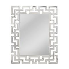 Mirror Masters Greek Key Motif Mirror