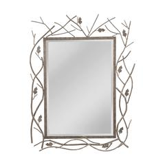 Twig And Leaf Mirror