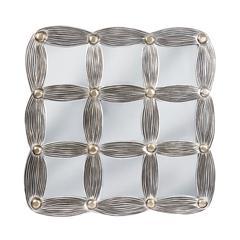 Mirror Masters Fashionable Nine Section Drape Designed Frame