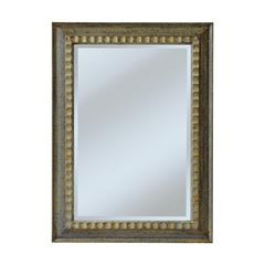Mirror Masters Carved Ripple Pattern Frame Gives This Model A Casual Look