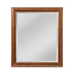 Mirror Masters Groove Designed Frame, Beveled Mirror
