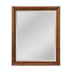 Groove Designed Frame, Beveled Mirror