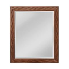 Mirror Masters Angled Carved Wood Frame